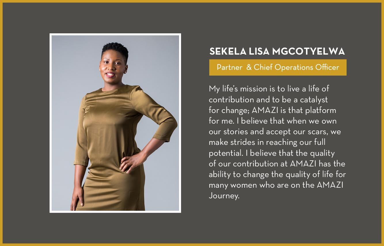 Amazi Beauty - Nail & Beauty Bar - Sekela Lisa Mgcotyelwa